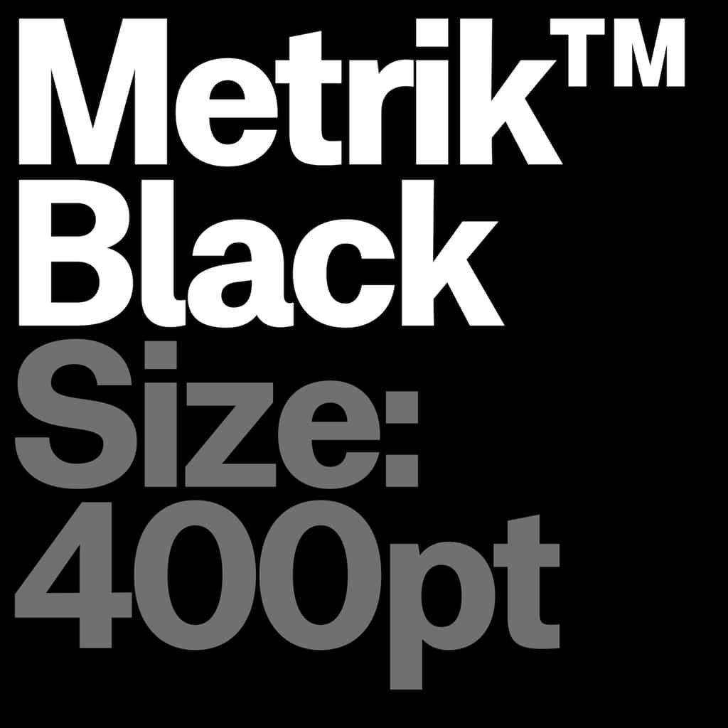 Metrik Type Department10