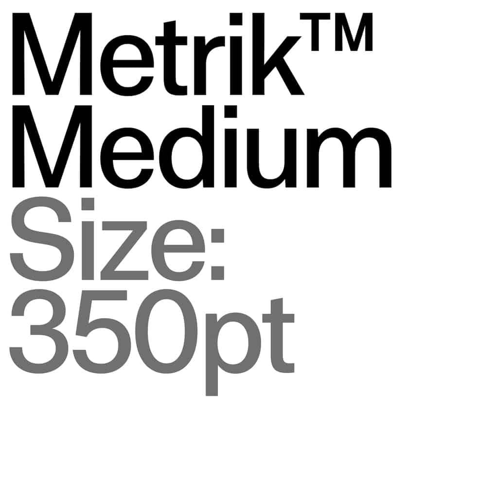 Metrik Type Department9