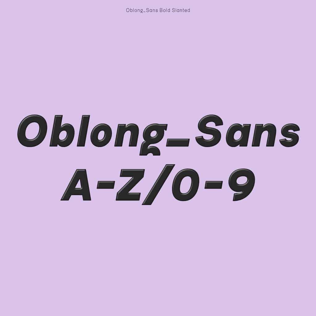 Oblong Sans_Johanne Lian Olsen19