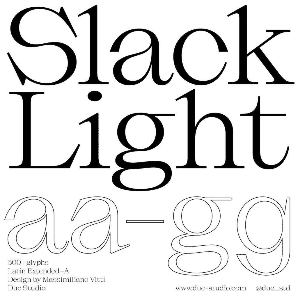 SlackLight_Type Department
