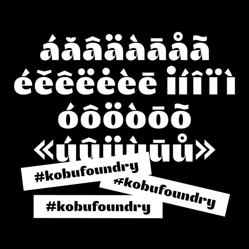 kobu-foundry-akuto-display-diacritics