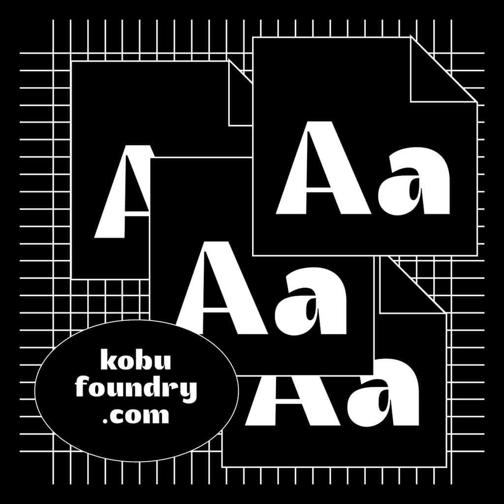 kobu-foundry-akuto-display-fontfiles