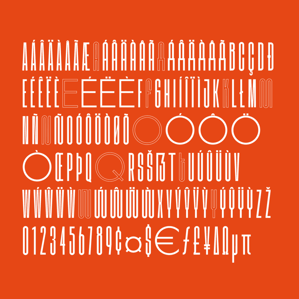 kobu-foundry-kotei-condensed-letters