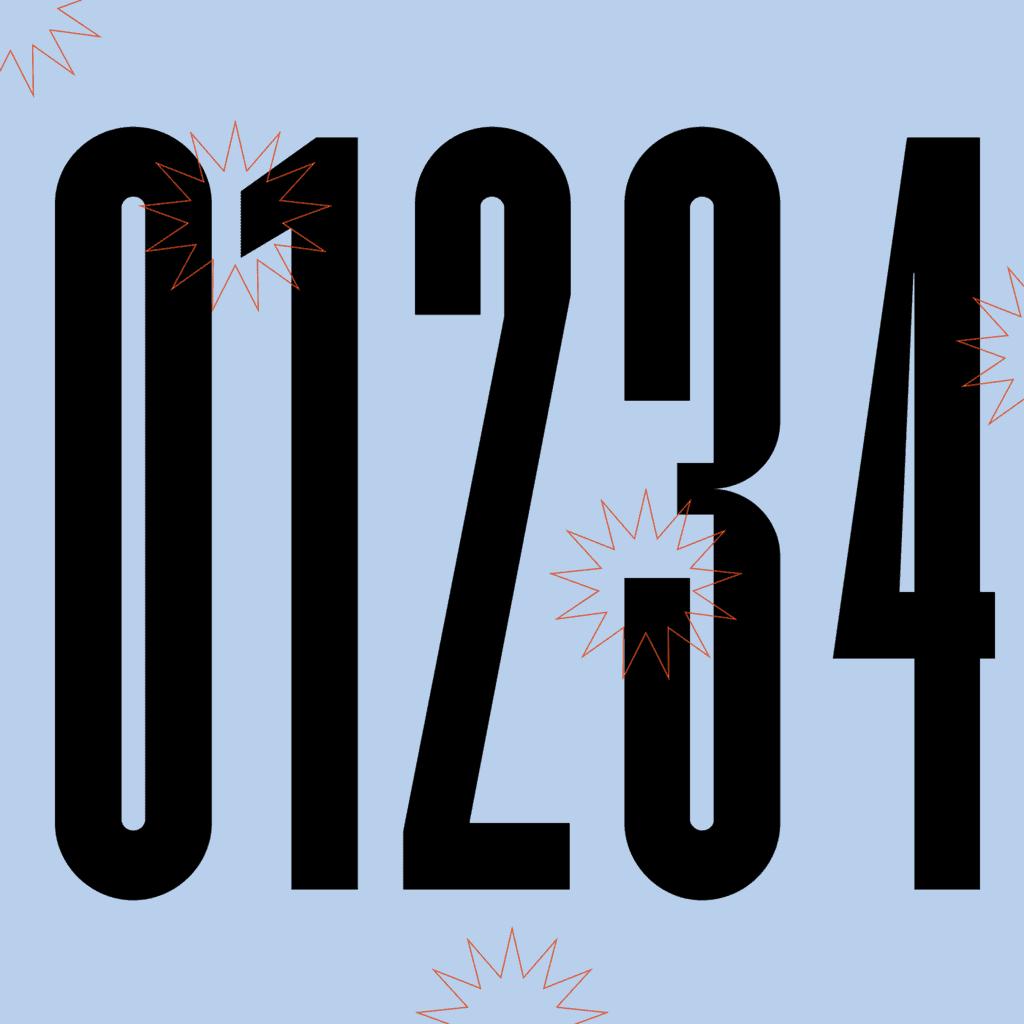kobu-foundry-kotei-condensed-numbers