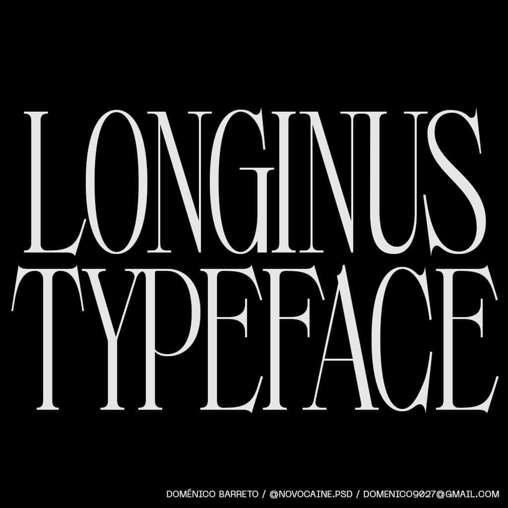 Longinus Font